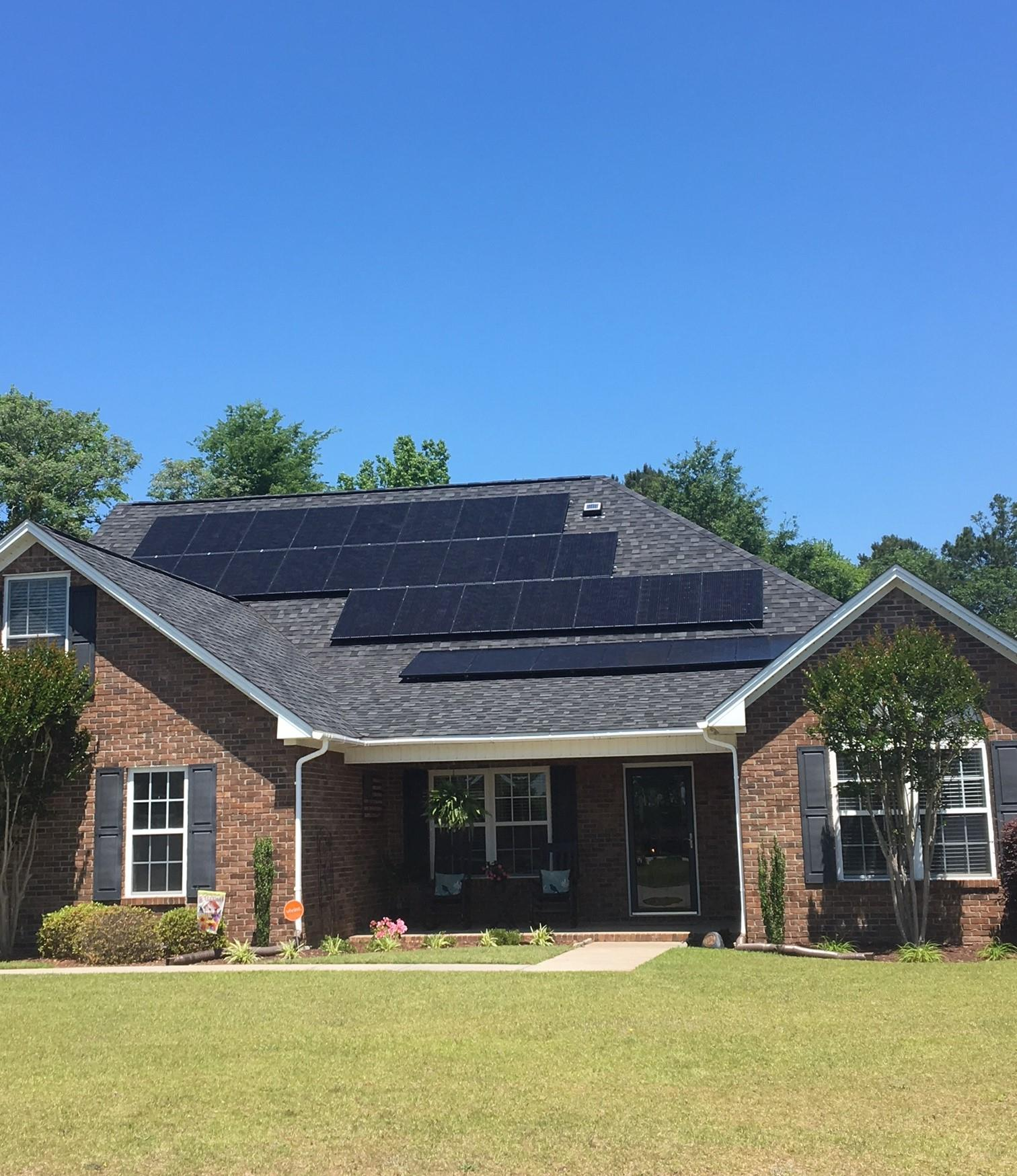 Residential Solar Panel Installation in Texas
